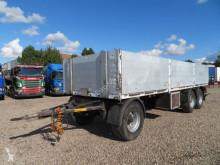 Lecitrailer 3 akslet 24 t. anhænger trailer used dropside flatbed