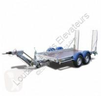 Hubière flatbed trailer TPG 2502 25TR