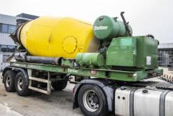 Stetter concrete mixer concrete semi-trailer BETON MIXER 10 M3+Hulpmotor/Moteur aux.