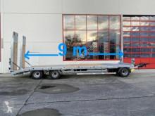 Möslein 3 Achs Tiefladeranhänger, 9 m lang,Verzinkt trailer used heavy equipment transport