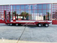 Müller-Mitteltal 4 Achs Tiefladeranhänger trailer used heavy equipment transport