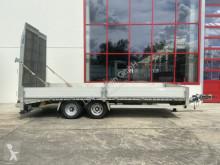 Humbaur heavy equipment transport trailer Tandemtieflader mit Bereite Rampen