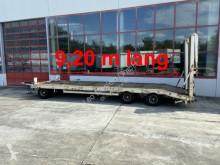 Przyczepa Müller-Mitteltal 3 Achs Tieflader 9,20 m Ladefläche do transportu sprzętów ciężkich używana