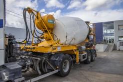 MOL BETON MIXER - 10 M3 semi-trailer used concrete mixer concrete