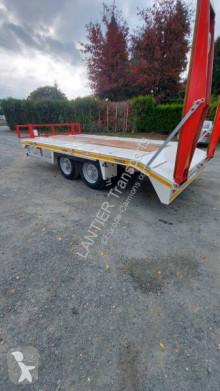 Gourdon PE 80 RD trailer used heavy equipment transport