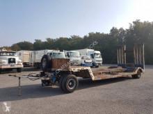 Samro heavy equipment transport trailer PORTE-ENGINS 2 essieux