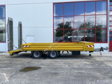 Müller-Mitteltal heavy equipment transport trailer 18 t Tandemtieflader, hydr. Rampen-- Wenig Benu