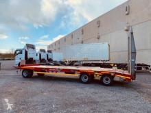 Müller-Mitteltal heavy equipment transport trailer 3 Achs Tiefladeranhänger, -- wenig benutzt --