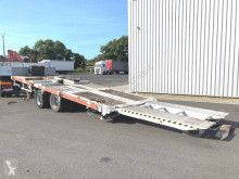 Leveques R1917 2 ESSIEUX PLATEAU BASCULANT trailer used heavy equipment transport