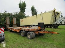 Przyczepa Müller-Mitteltal T 40, 40 to 4 Achs Tieflader mit Rampen do transportu sprzętów ciężkich używana
