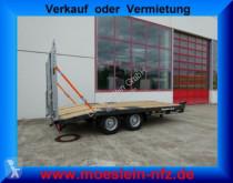 Möslein Neuer Tandemtieflader trailer used flatbed