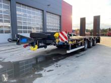 Invepe heavy equipment transport trailer porte engins 3 essieux
