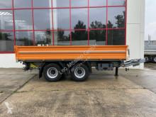 18 t Tandemkipper- Tieflader-- Neuwertig -- trailer used tipper