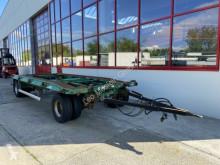 Container trailer 2 Achs Abrollmulden- Anhänger + Tieflader