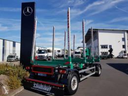 Timber trailer Schuchardt Kurzholz-Anhänger Alu-Felgen
