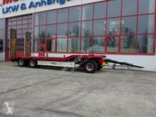 3 Achs Tieflader- Anhänger trailer used heavy equipment transport