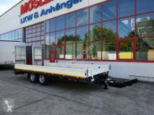 Möslein Neuer 13 t GG Tandemtieflader mit Breiten Rampe trailer used heavy equipment transport