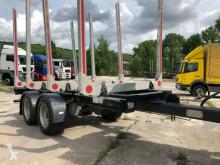 Timber trailer Holz Ahn Tandem 2-Achse 4Rungen Leergewicht 2440