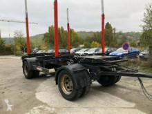 Anhænger Schwarzmüller Holz 2 Achse Zwillingsbereifung 2 Schemel Exte kævlevogn brugt