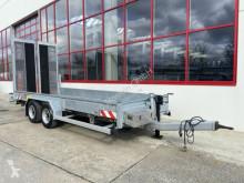 Reboque porta máquinas Humbaur Tandemtieflader mit Breiten Rampen