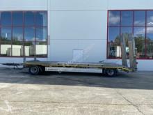 Möslein 2 Achs Tieflader, Wenig benutzt trailer used heavy equipment transport