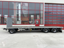 Прицеп платформа для перевозки сена Möslein 3 Achs Jumbo- Plato- Anhänger 9 m, BallenwagenN