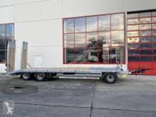 Möslein 3 Achs Tieflader mit gerader Ladefläche 8,10 m, trailer used heavy equipment transport