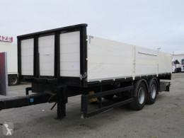 Dropside flatbed trailer Baustoffanhänger TANDEM