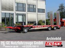 Müller Mitteltal Müller-Mitteltal 3-Achs-Tiefladeanhänger trailer used heavy equipment transport
