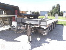 Louault R3CB18/25 PORTE ENGINS / PORTE CONTAINERS trailer used heavy equipment transport