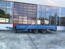 Müller-Mitteltal Tandemtieflader18 t trailer used heavy equipment transport