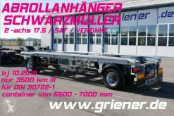 Anhænger Schwarzmüller AZ 18/ nach DIN 30722-1 / SAF / VERZINKT 17,5 !! containervogn brugt