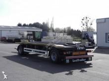 Voir les photos Remorque Lecitrailer porte caissons plateau acier fixe, verrouillage hydraulique