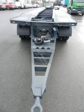 Prohlédnout fotografie Přívěs Lecitrailer porte caissons plateau acier fixe, verrouillage pneumatique