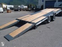 Prohlédnout fotografie Přívěs Castera TPCB 15 DISPO Plateau basculant porte-engins 2 essieux