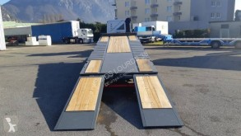 Ver las fotos Remolque Castera TPCB 25 DISPO Remorque plateau basculant 3 essieux porte-engins