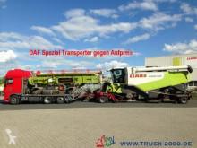 Voir les photos Remorque Fliegl ZTS200 Tieflader Land + Baumaschinen 30cm Höhe