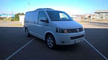 Volkswagen T5 TDI 174 used negative trailer body refrigerated van