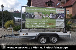 Böckmann Werbeanhänger , Gestell used light trailer