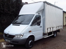 Furgoneta furgoneta con lona MERCEDES-BENZ SPRINTER 411CDI CURTAIN SIDE *FRENCH REGISTRATION*