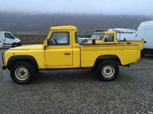 Land Rover Defender 110 used flatbed van