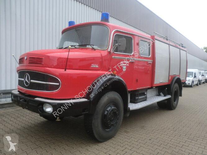Просмотреть фотографии Грузовик Mercedes LAK 1924   4x4 LAK 1924 4x4 TLF