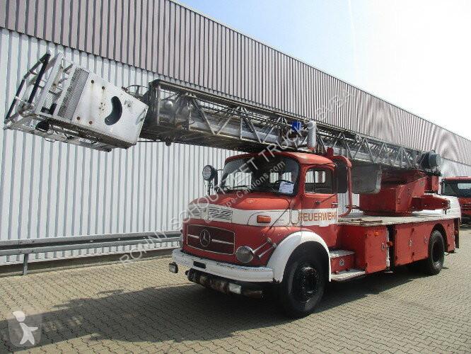 Voir les photos Véhicule utilitaire Mercedes - L 1519 4x2 DL 30 L 1519 4x2 Feuerwehr Drehleiter DL30