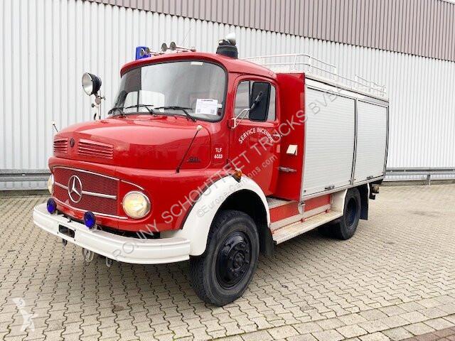 Bekijk foto's Bedrijfswagen Mercedes LAF 911 4x4 Feuerwehr LAF 911 4x4 Feuerwehr