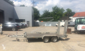 Humbaur trailer used heavy equipment transport