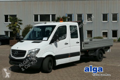 Utilitaire plateau ridelles occasion Mercedes 316 CDI Sprinter, Doka, 3.4 m. lang, Kugelkopf!