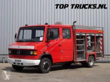 Mercedes 711D, feuerwehr - fire brigade - brandweer, Pomp, Watertank