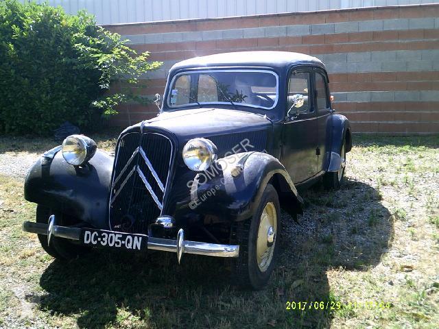 Vedere le foto Veicolo commerciale Citroën Traction 11BL