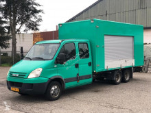 Fourgon utilitaire occasion Iveco FOODTRUCK - CLICKSTAR - DOUBLE CABIN - NL BE COMBI - TOP!
