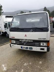 Mitsubishi Canter FE444 used dropside flatbed van